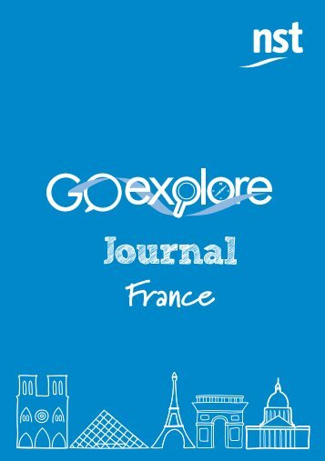 Go Explore Journal resource sample - NST