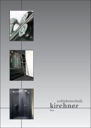 Schiebetürbeschläge Bau - G. Kirchner GmbH & Co. KG
