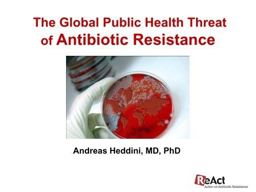 of Antibiotic Resistance - ReAct