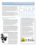 Convention Program - Christian Homeschool Association of ... - Page 5