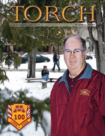 Volume 38, Number 2 - Fall 2005 - University of Minnesota, Crookston