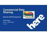 3C: Commercial Data Sharing - the Nebraska GIS/LIS Association