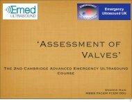 'Assessment of Valves' - Emergency Ultrasound