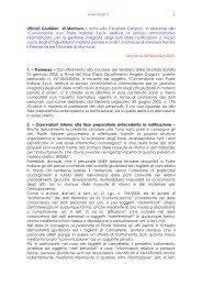 Ufficiali giudiziari di Mantova > Nota sulla circolare convenzione ...
