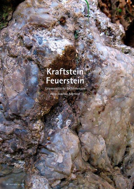 Kraftstein Feuerstein - Hagia Chora Journal