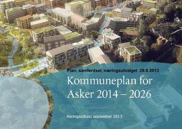 Plan, samferdsel, næringsutvalget 29.8.2013 - Asker kommune