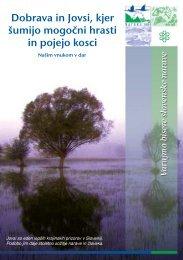 Dobrava in Jovsi, kje šumijo mogočni hrasti in pojejo ... - Natura 2000