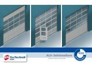 ALU- Sektionaltore - B+N TorTechnik