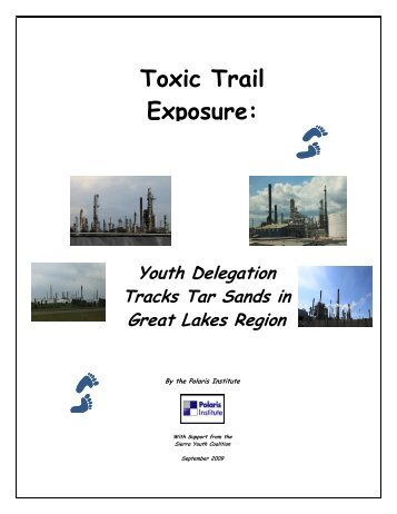 Toxic Trail Exposure: - Tar Sands Watch
