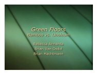 Green Floors