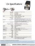 View Cxi data sheet - Digi-Trax - Page 2