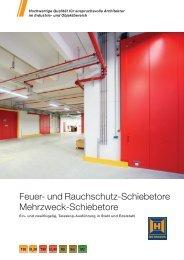 Feuer- und Rauchschutz-Schiebetore Mehrzweck ... - Hörmann KG