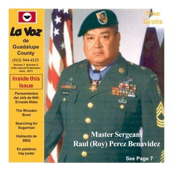 La Voz de Guadalupe County June 2013.pmd - La Voz Newspapers
