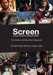 Screen Education media kit (including advertising ... - Metro Magazine