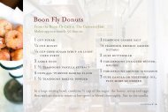Boon Fly Donuts - Timbers Resorts