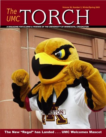 WEB Torch W-S 03 - University of Minnesota, Crookston