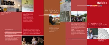 Oberstufe - Freie Waldorfschule Am Illerblick
