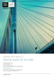 IntraLinks VIA for the Web Startup Guide