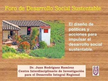 Por Juan Rodríguez Ramírez - Secretaría de Desarrollo Social y ...