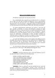 resolucion 862 nombramiento miembros junta gobierno ... - ISOTools