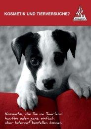 KOSMETIK UND TIERVERSUCHE? - Pro Iure Animalis