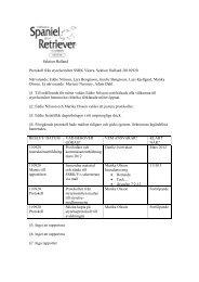 Sektion Halland Protokoll från styrelsemötet SSRK Västra, Sektion ...