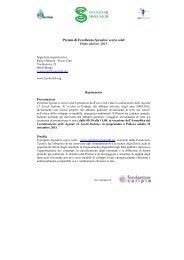 Premio Spendere senza soldi - Coordinamento Agende 21 Locali ...