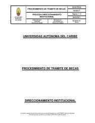 5. Procedimiento de Tramite de becas - sistema de gestión de ...