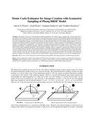 Monte Carlo Estimator for Image Creation with Symmetric Sampling ...