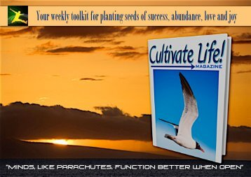 Cultivate Life! magazine - Trans4mind