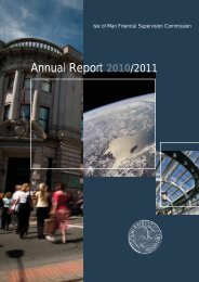 Annual Report 2010 / 11 - Financial Supervision Commission