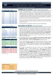 21/03/2012 Informe diario de mercados de Saxo Bank Los futuros ...