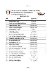50k CHIHUAHUA 2011 - Atletismo en México