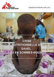 Crise nutritionnelle au sahel : où en sommes-nous ?