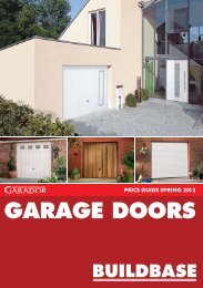CLICK HERE to download Garage Doors 2012 Price Guide