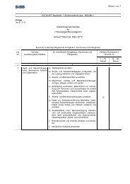 Ausbildungsrahmenplan Revierjäger - Wir gestalten Berufsbildung