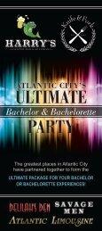 The Ultimate Bachelor & Bachelorette Package - Atlantic City