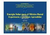 Energía Solar para el México Rural - unido