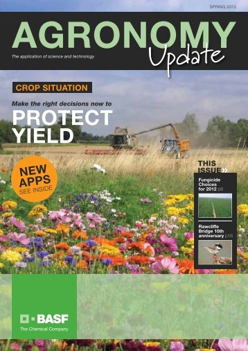PROTECT YIELD - agriCentre UK - BASF