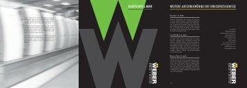Kunststoffe - WEBER Druck + Display
