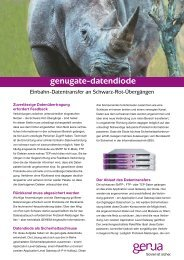genugate-datendiode, Flyer (PDF) - GeNUA