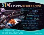 theatre ethnic food teatro dance cucina etnica - Suq a Genova