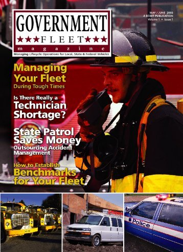 Government Fleet Magazine, May/June 2003, Volume ... - AssetWorks