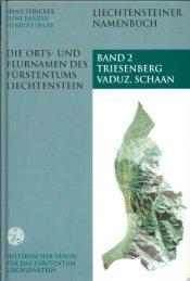 Untitled - Historischer Verein für das Fürstentum Liechtenstein