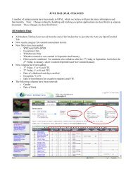 JUNE 2012 OPAL CHANGES All Students Page