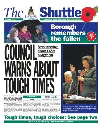 November 2010 - Blackburn with Darwen Borough Council