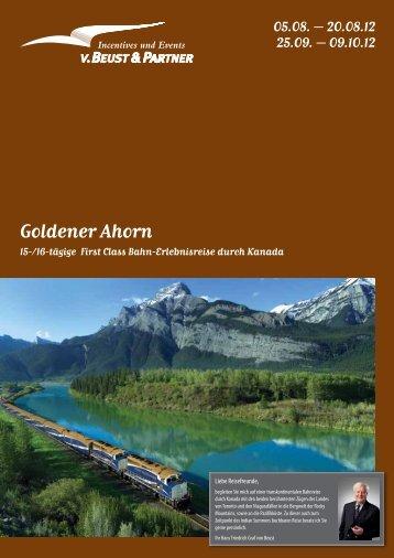 Goldener Ahorn - von Beust & Partner