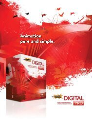 The complete digital animation software for professionals