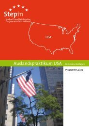 InterExchange Career Training USA - Stepin
