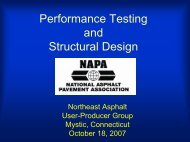Performance Testing and Structural Design - neaupg